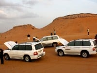 Désert safari Dubaï, 4x4, camping, barbecue