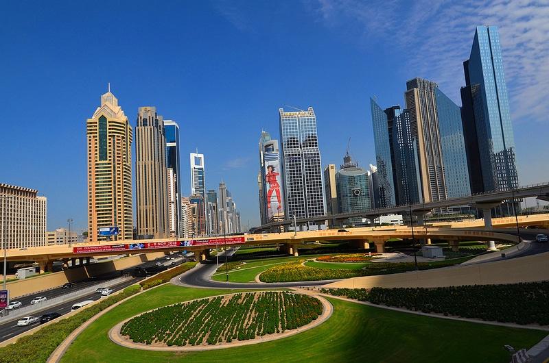 Parc à Dubaï