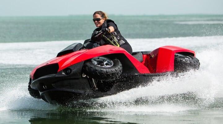 Connaissez-vous le quad scooter des mers ?