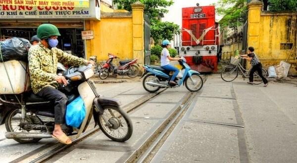Hanoi Train voie