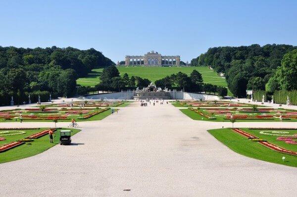 Jardins château de Schonbrunn Vienne