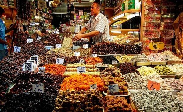 Marché aux épices, spices bazaar, Istanbul