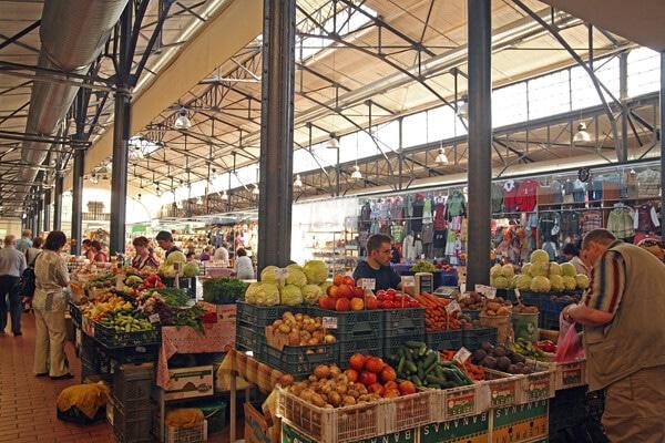 Marche Halės turgus Vilnius