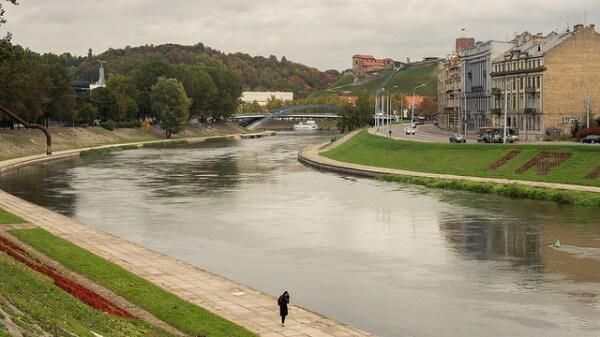 Néris rivière Vilnius