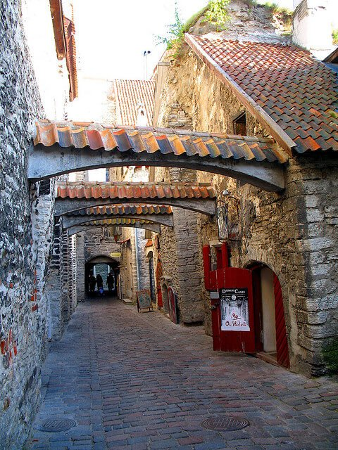 Passage Sainte Catherine Tallinn