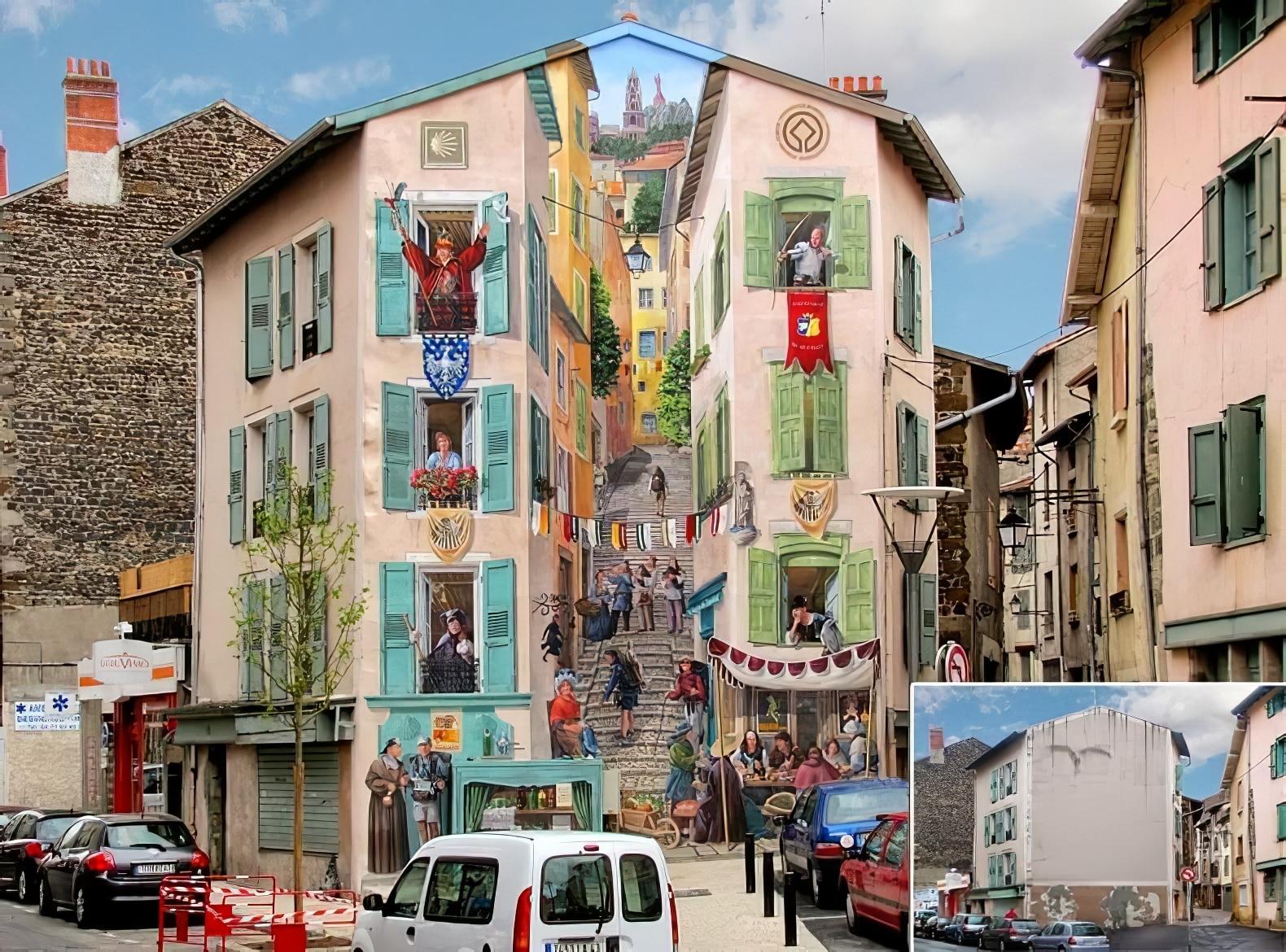 Patrick Commecy peinture trompe-l'oeil Puy-en-VelayPatrick Commecy peinture trompe-l'oeil Puy-en-Velay