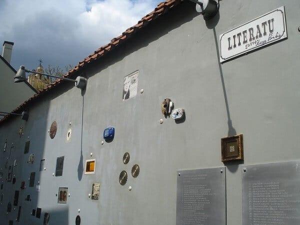 Rue Literatu Vilnius
