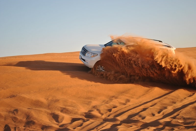 Safari en 4x4 à Dubai