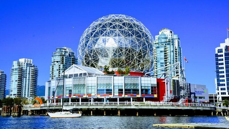 Science World, Musée des Sciences, Vancouver