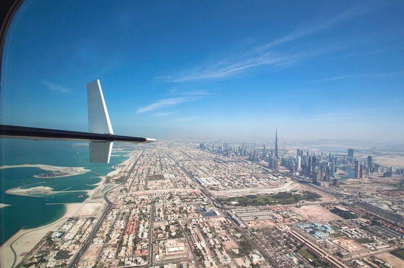 Vol en hydravion à Dubaï
