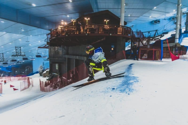 Ski Dubaï, Mall of the Emirates