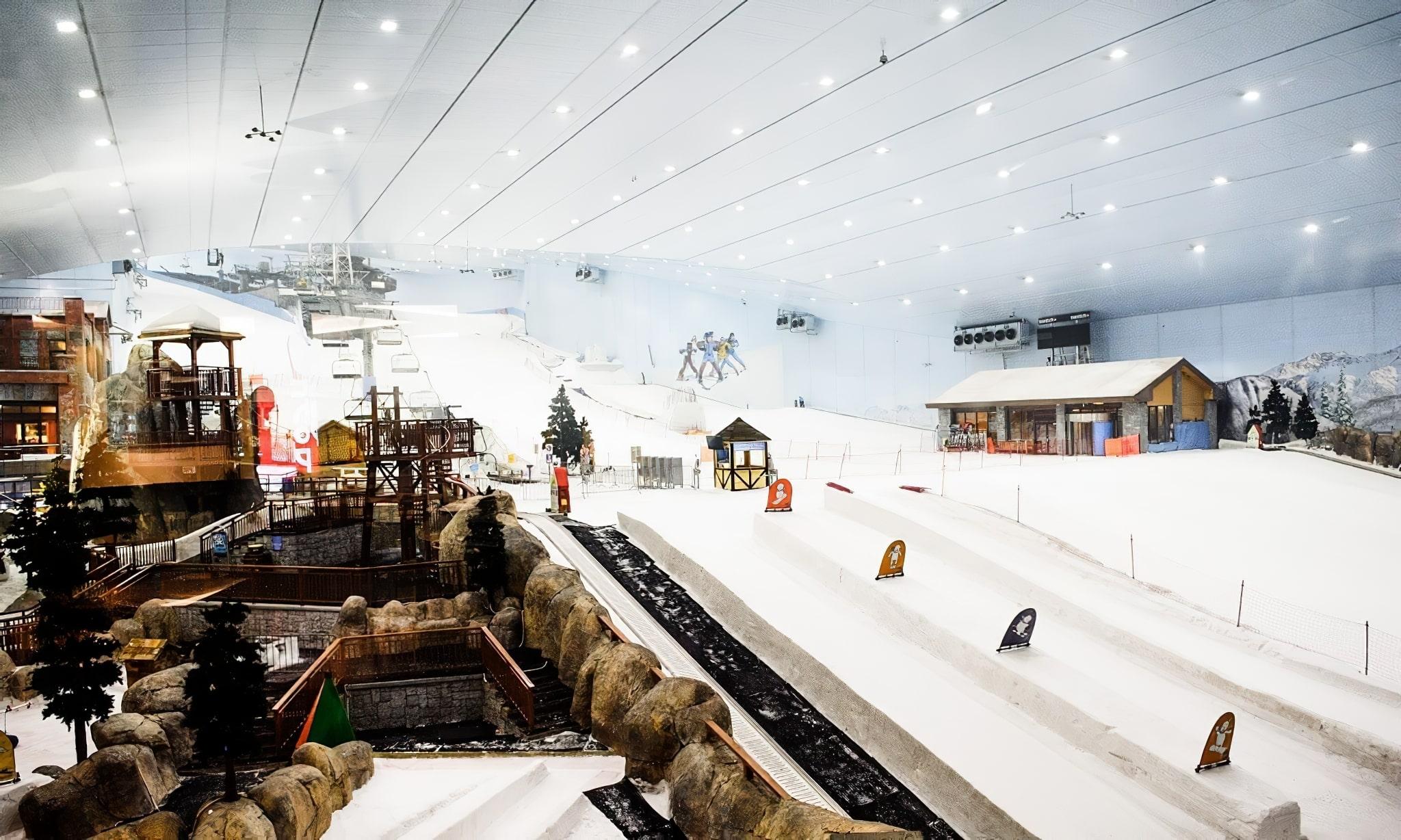 Ski Dubaï snow