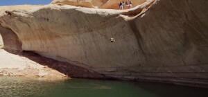 Slip 'N Slide toboggan lac
