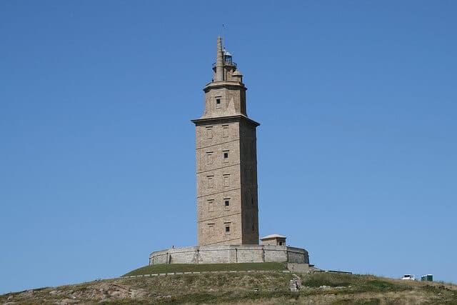 Tour d'Hercule, La Corogne, Galice, Espagne