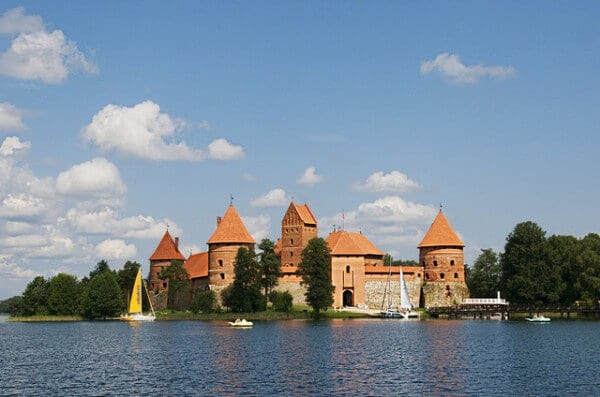 Trakai château Vilnius