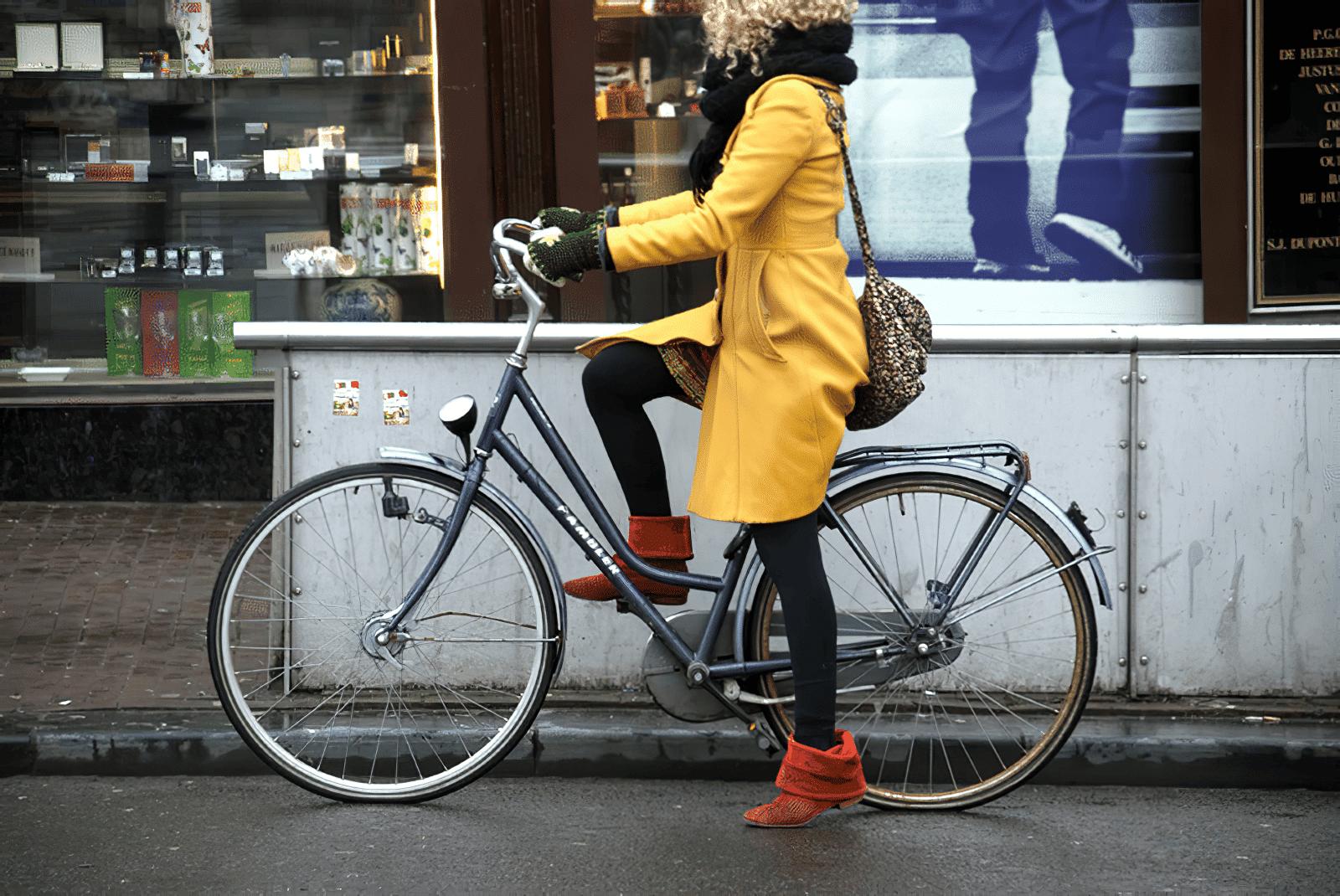 Balade guidée à vélo dans la ville d'Amsterdam