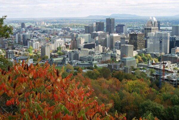 Vue du Mont-Royal Montreal