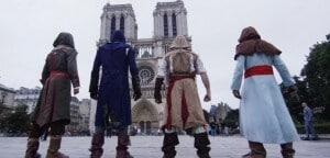 Assassin's Creed parkour dans les rues et sur les toits de Paris dans la vraie vie