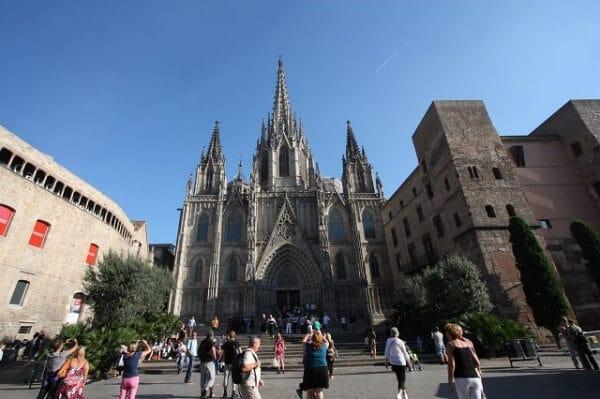 Cathédrale Sainte-Croix Barcelone
