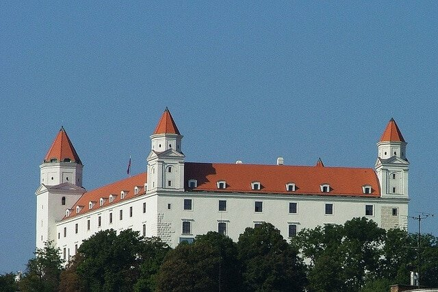Château de Bratislava en Slovaquie