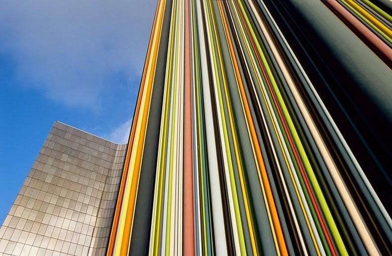 Cheminée Moretti, La Défense, Paris