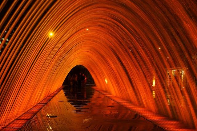 Circuit magique de l'eau, à Lima