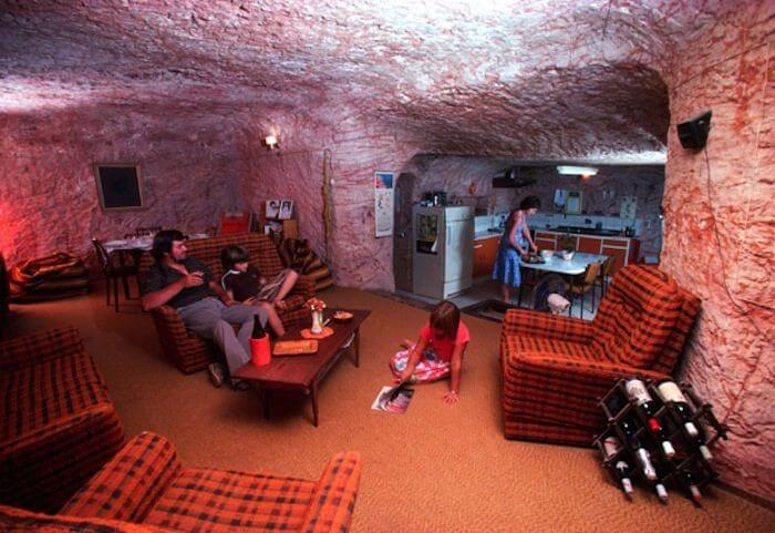 Coober Pedy, ville souterraine, opale, outback, Australie