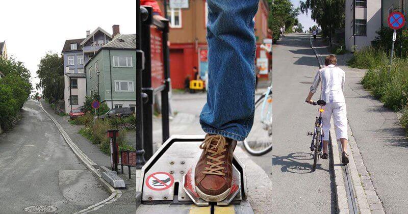 CycloCable: un remonte vélo pour aider les cyclistes occasionnels