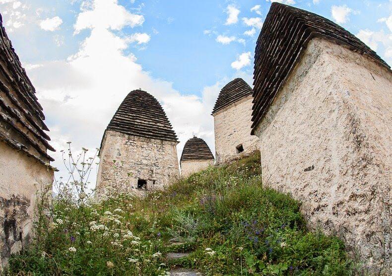 Dargavs en Ossétie, Cité des Morts en Russie
