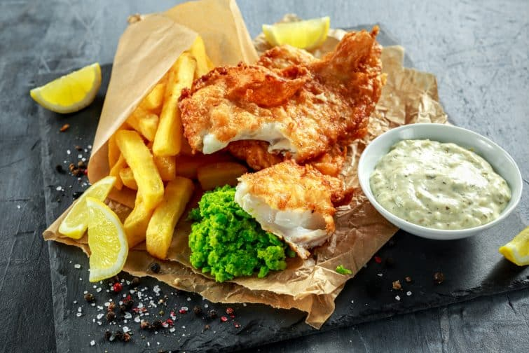 Le mythique Fish and Chips