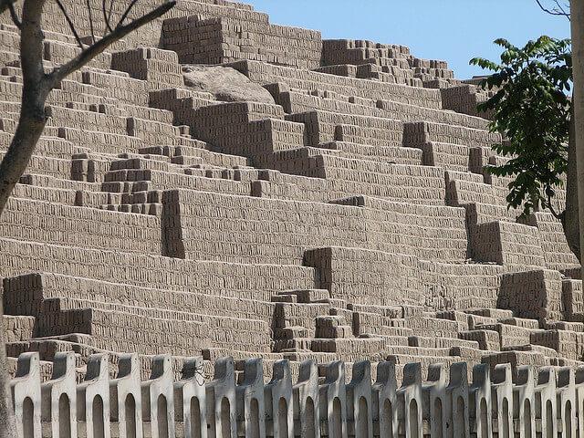 Huaca Pucllana, Lima