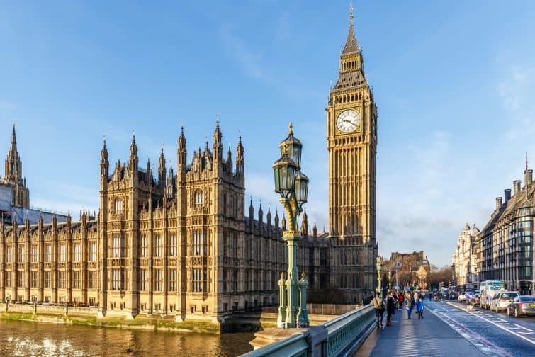 Big Ben et le Parlement britannique