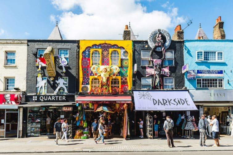 Le quartier de Camden Town, à visiter à Londres