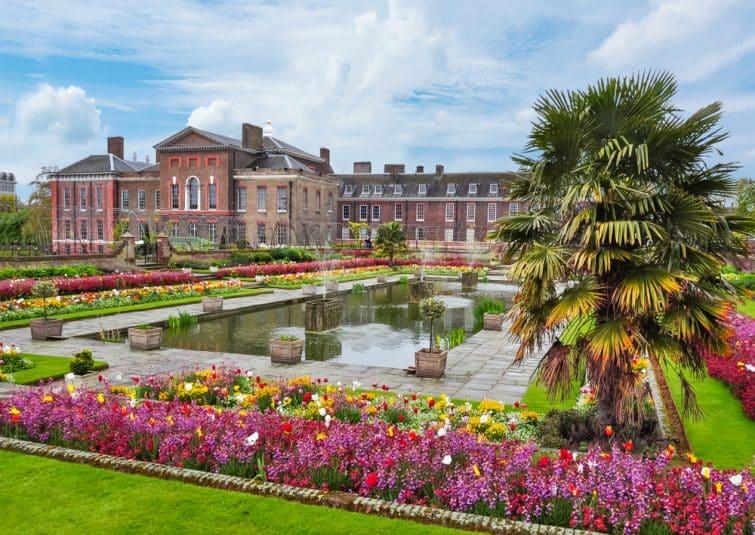 Le Kensington Palace et ses jardins