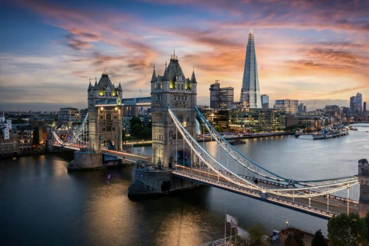 Le Tower Bridge, un immanquable à faire à Londres