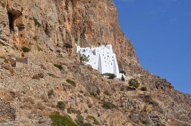 Monastère Panagia Hozoviotissa, Amorgos, Grèce