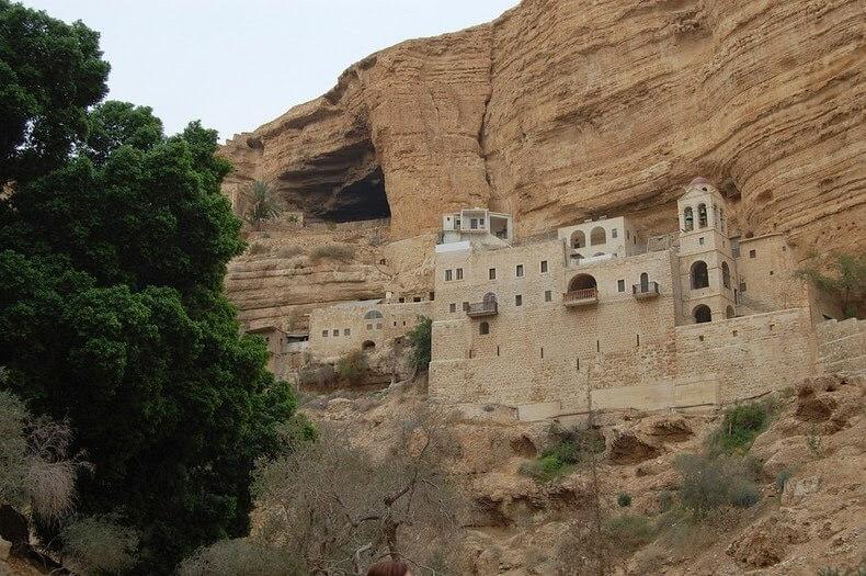 Le Monastère Saint-Georges, Wadi Qelt, Cisjordanie