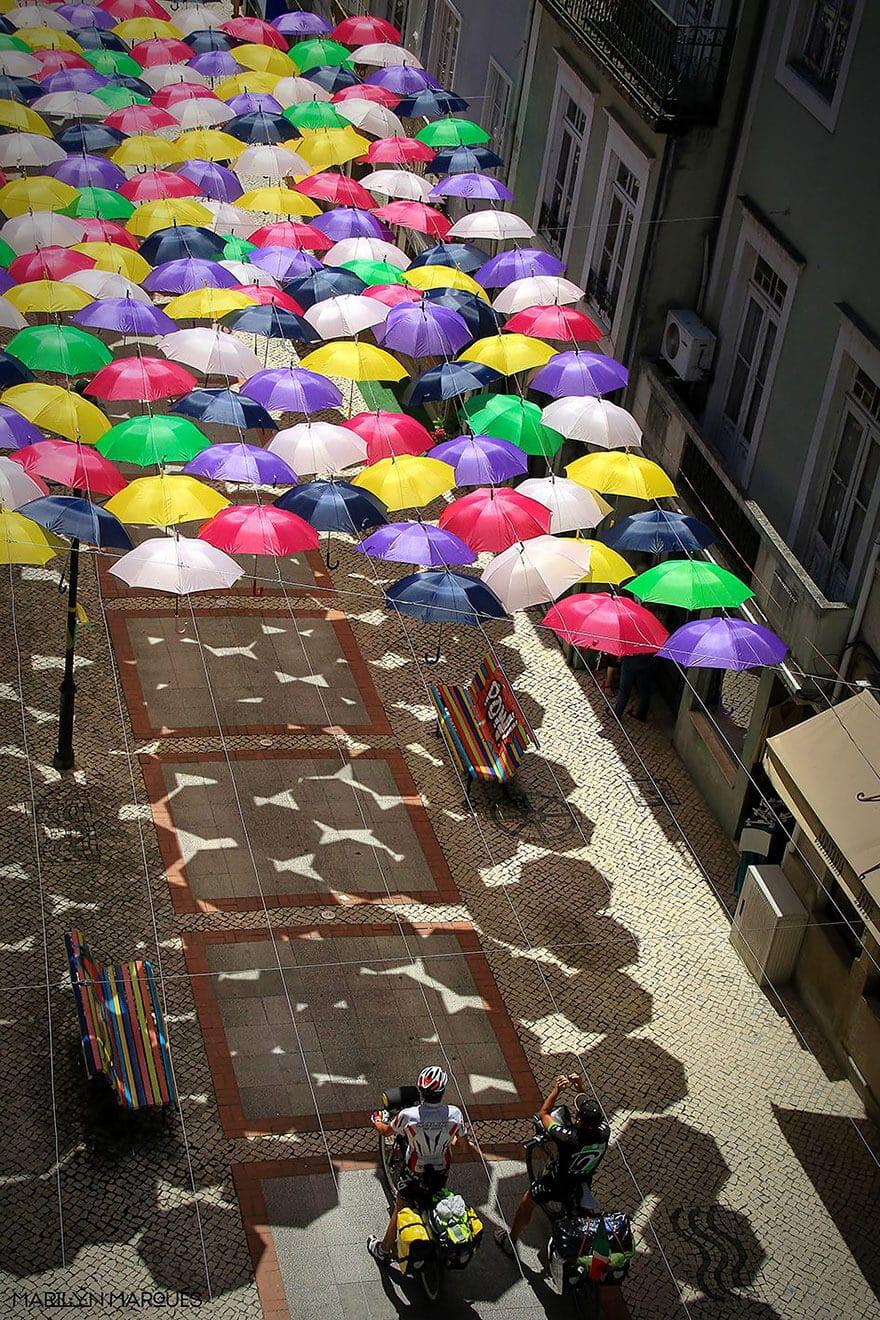 Parapluies, Agueda Portugal-1
