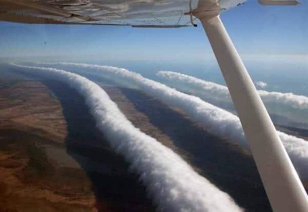 nuages matinaux australie