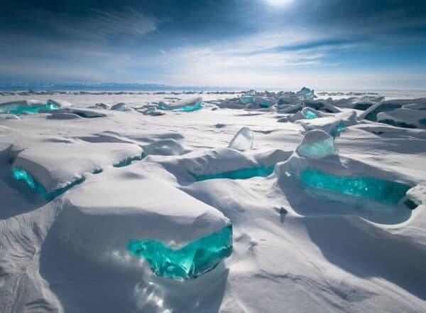 glaces lac baikal