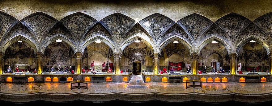Photos de l'intérieur de mosquées en Iran par Mohammad Domiri