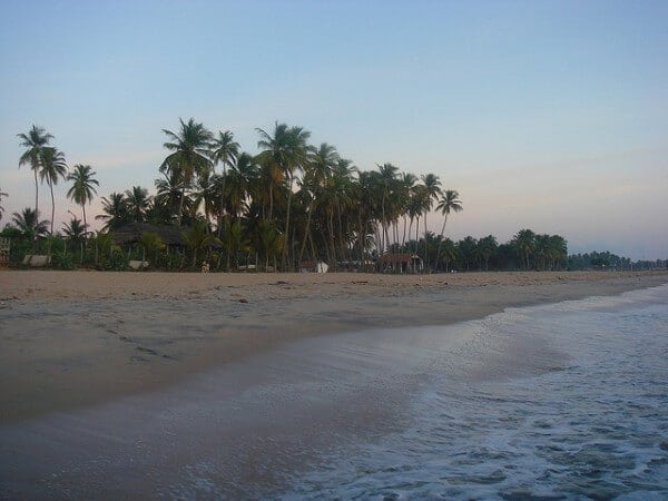 Plage Nilaveli Sri Lanka