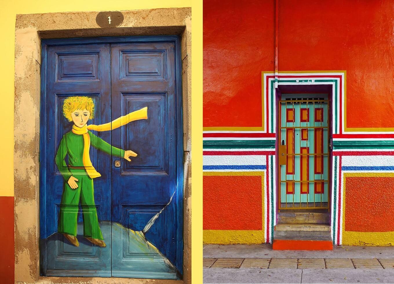 30 superbes portes qui semblent conduire vers d'autres mondes