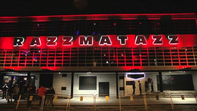 Razzmatazz, Barcelone