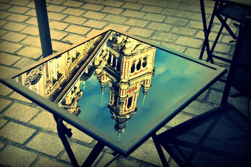 Reflet du Beffroi de Lille