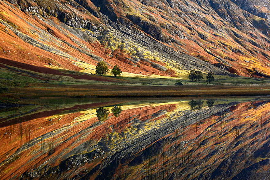 Reflet Glen Coe en Ecosse