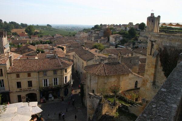 Saint-Emilion, village, France