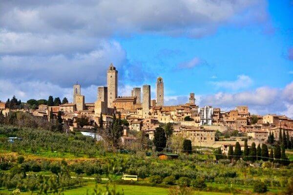 Visiter San Gimignano et ses hautes tours médiévales