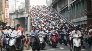 Scooters Taiwan Taipei