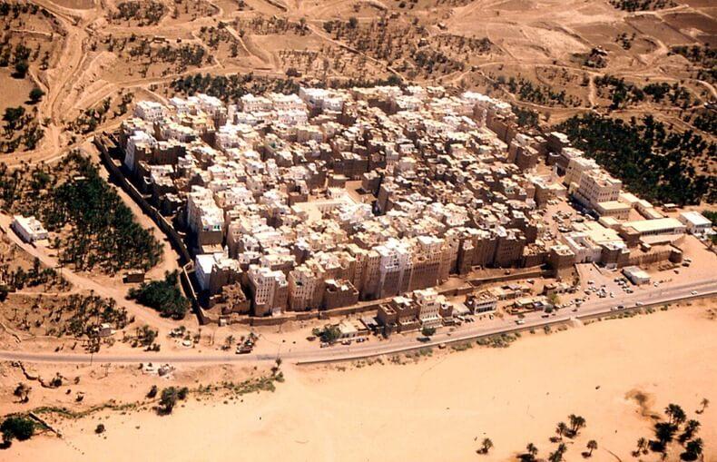 Shibam, Manhattan du désert, au Yémen